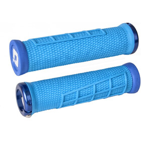 ODI Elite Flow Lock-On 2.1 MTB Grips, light blue